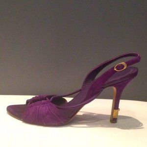 Authentic Dior sling back heels